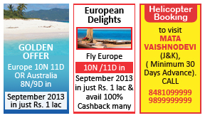Punjab Kesari Travel classified rates