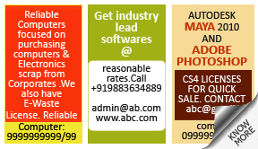 Deccan Chronicle Computers classified rates
