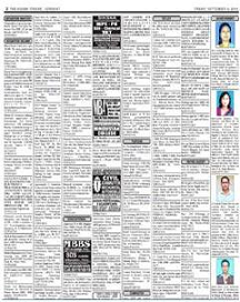 Assam tribune advertisement rates rate card classified rates image altavistaventures Image collections
