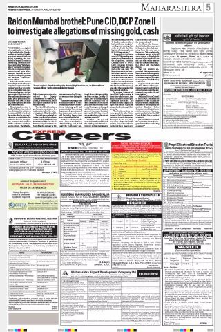 Express Careers Advertisement Booking