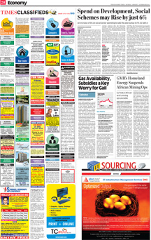 Economic Times Newspaper Ad Booking
