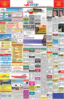 The Telegraph> Newspaper Classified Ad Booking